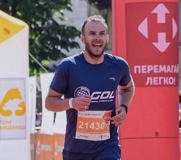 Представитель Global Ocean Link принял участие в полумарафоне «Нова почта — Одесса»