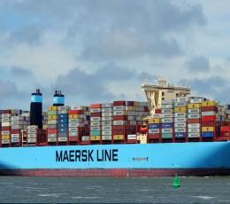 Maersk будет заходить лишь в один украинский порт