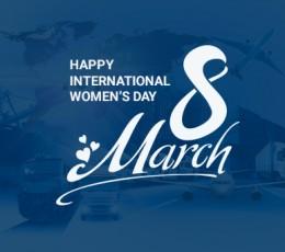 Компанія Global Ocean Link вітає всіх жінок зі святом 8 березня!