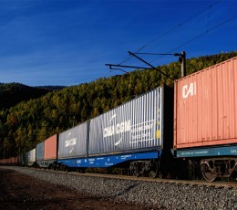 Global Ocean Link has organized a regular train service between Ukraine and Poland