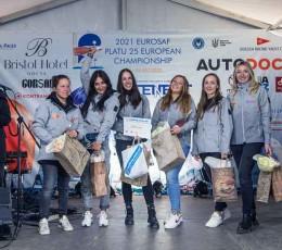Яхтсмени Global Ocean Link виступили на Чемпіонаті Європи з вітрильного спорту EUROSAF Platu 25