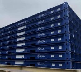 Global Ocean Link начала поставлять в Украину рулонную сталь на своих flat-платформах