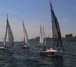 Экипаж яхты iGOLka первенствовал на 2-м этапе Кубка Odessa Racing Yacht Club 2019