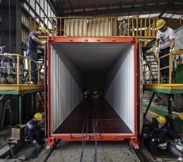 У 2018 році було вироблено контейнерів сумарною місткістю 4 млн TEU