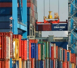 Container turnover of Ukrainian sea ports in January-February grew by 16.6%