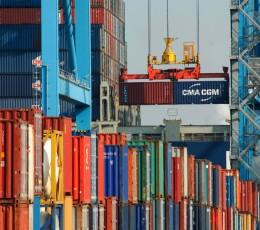 Контейнерообіг морських портів України в січні-лютому зріс на 16,6%