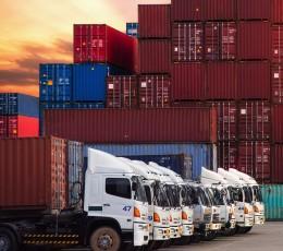 Обсяг вантажних перевезень в Україні зменшився на 12,3%