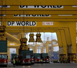 DP World has shown the principle of operation of the innovation system of storage containers