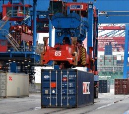 Украинские морские порты нарастили контейнерооборот почти на 20%