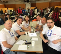 The GOL team took part in the international intellectual tournament in Munich