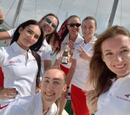 Вдалий дебют жіночого екіпажу на яхті GOLandia в Кубку Чорного моря 2019
