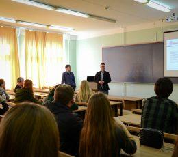 У Харкові пройшла зустріч представників регіонального офісу та студентів-логістів