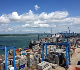 За перший місяць 2021 року морпорти України зменшили контейнерообіг на 15,7%