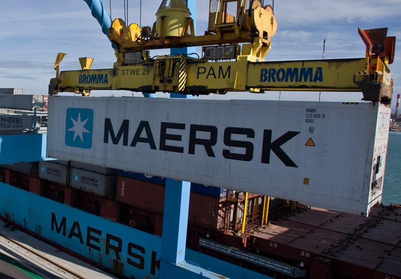 global ocean link MAERSK