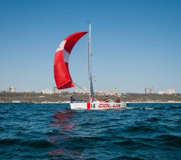 """""""Golden"""" opening of the sailing season–2019 in Odessa Racing Yacht Club"""