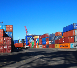 For 3 quarters of 2018, Ukrainian ports increased the container flow to 586 thousand TEU