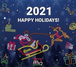 Компания Global Ocean Link поздравляет всех с Новым Годом и Рождеством!