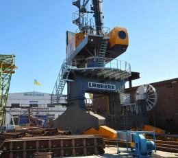 В Україні будують найбільше судно за всю історію незалежності