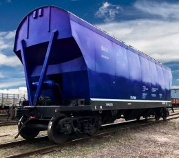 A grain carrier almost entirely consisting of domestic components was made in Ukraine