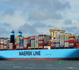 Maersk points record profit on growing container shipping demand
