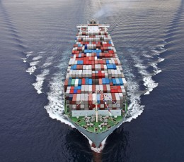 In May, the volume of container traffic on the Asia — Europe trade will decrease by 17%